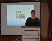 Panelist Kim Oastler, Executive Director of ALSO, Visionary Social Enterprise Entrepreneur, Eat More Soup!